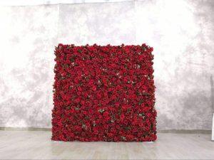 Décoration mur de fleur